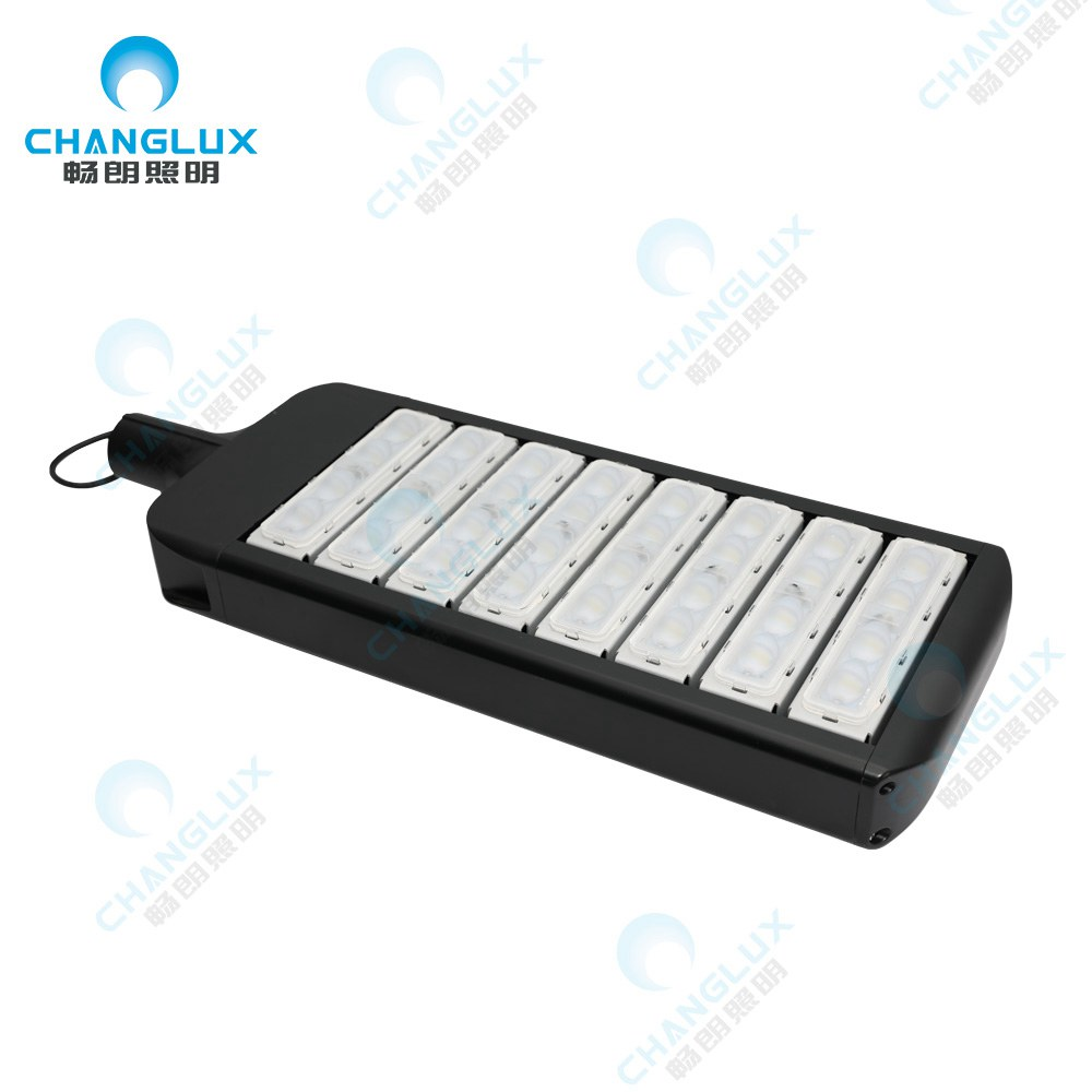 CL-SL-A240  240w Eight Module Street Bi-level Led Parking Lots Area Lighting Fixture/High lumen waterproof outdoor module ip65 240w led street light price